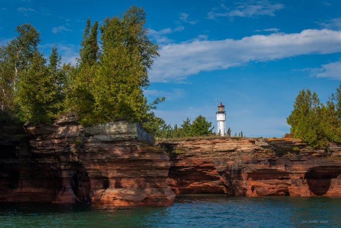 2. Kayak by the Apostle Islands.