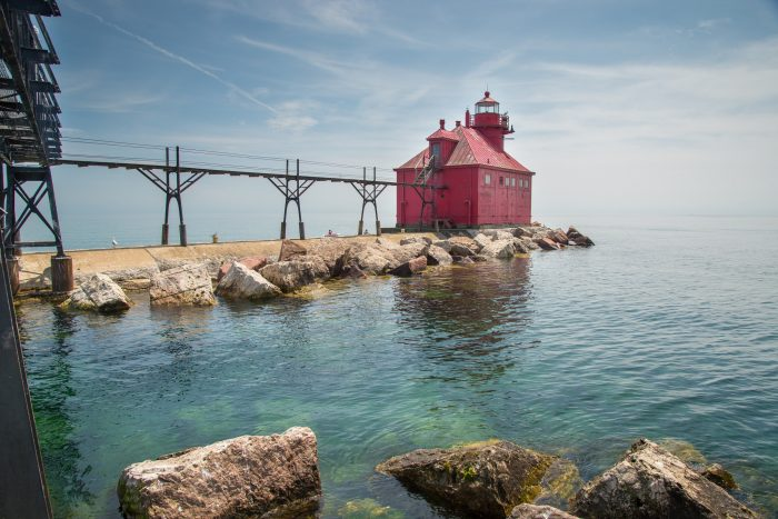 6. See some of Wisconsin's quaint light houses.