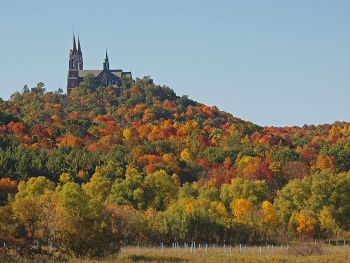12. Enjoy the beauty of Wisconsin's most beautiful church, Holy Hill.
