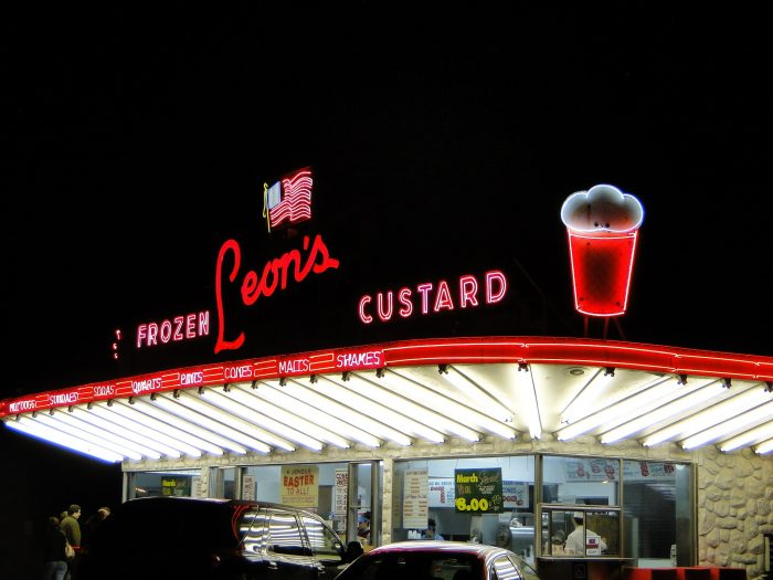 14. Go out on a super hot night and get some frozen custard.