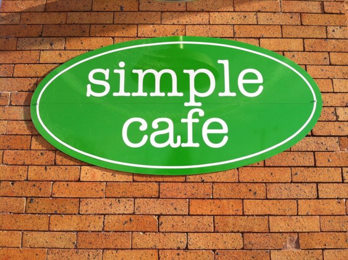 1. Simple Cafe