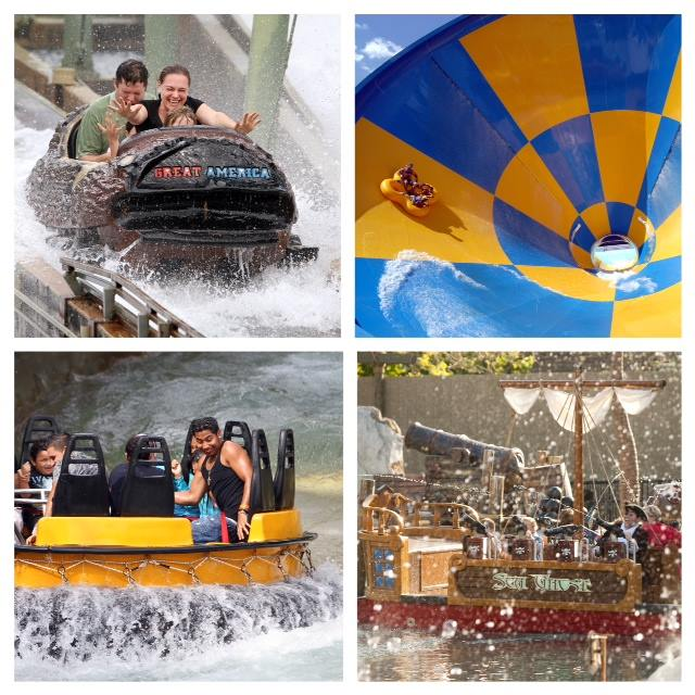 1. Six Flags Great America/Hurricane Harbor