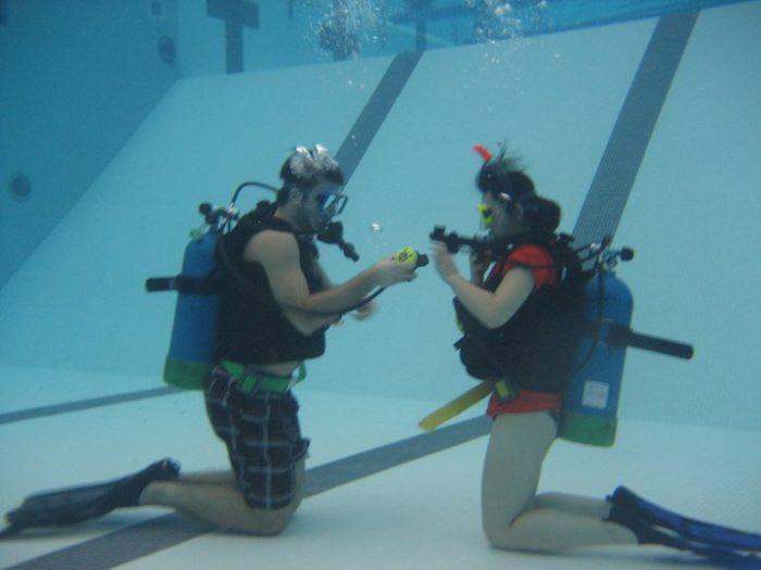 7. Scuba Diving