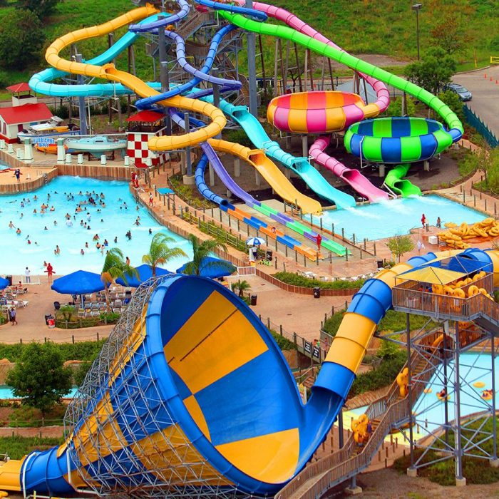 1. Hurricane Harbor