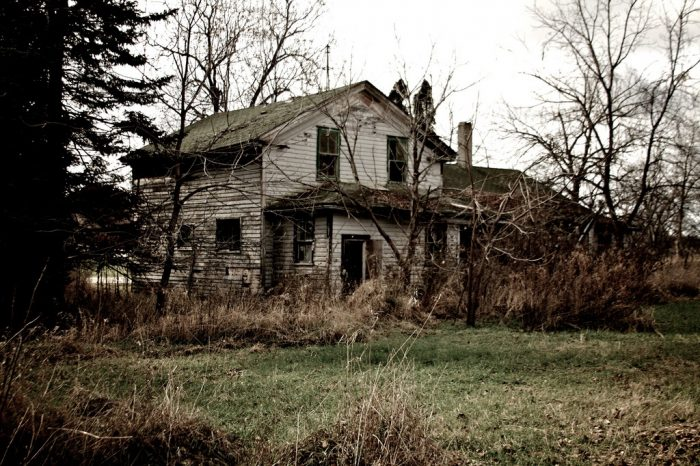 9. This Princeton home looks like something out of a horror flick.