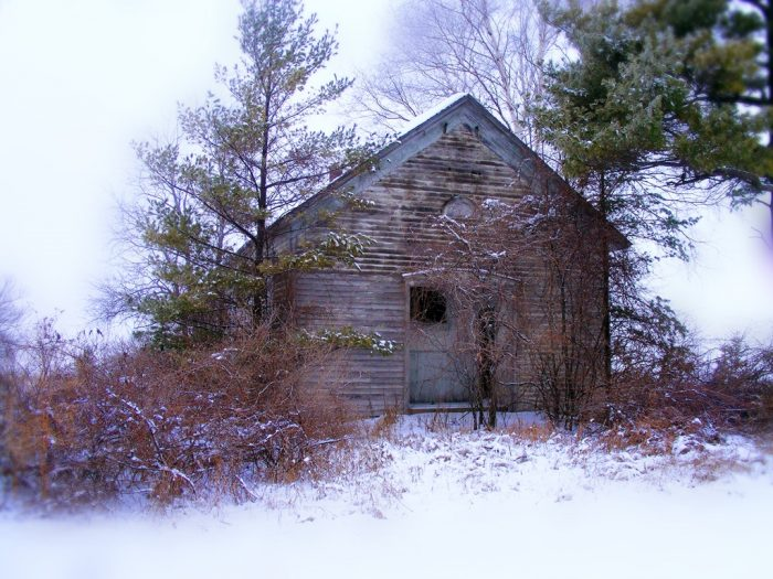 12. This Door County home looks extra creepy in the fog.