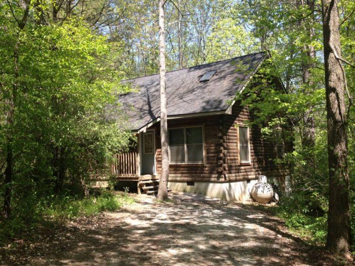 10. Rustic Hideaway Cabins