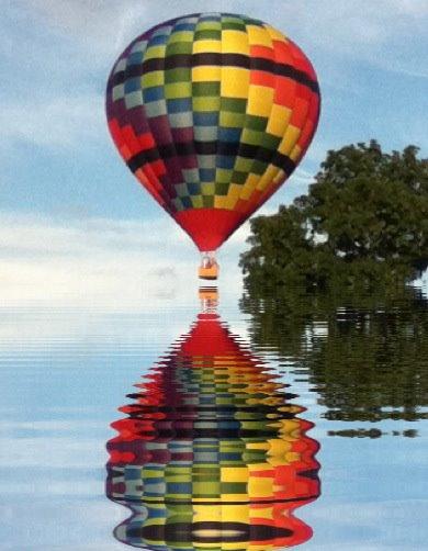 3. Go on a hot air balloon ride.