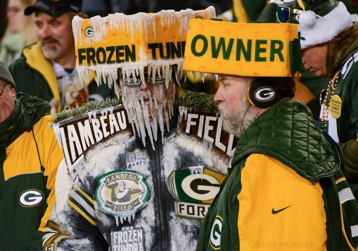 3. The Packers stunk
