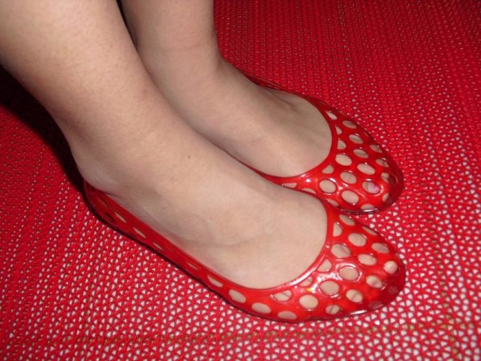 4. Jelly Shoes