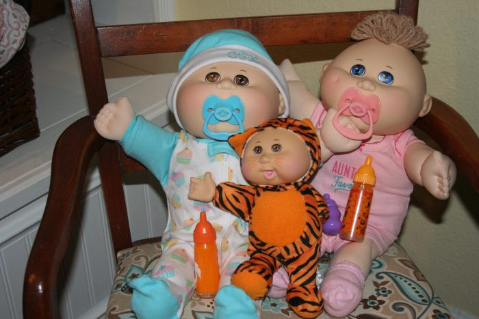 9. Cabbage Patch Dolls