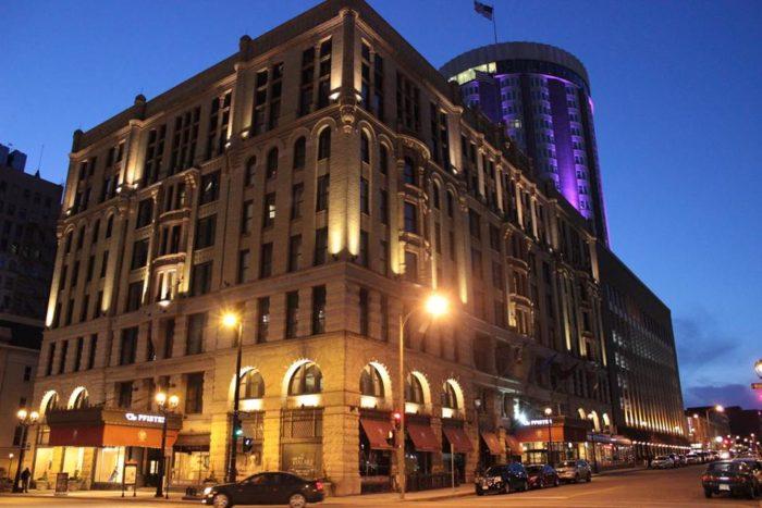 1. The Pfister Hotel