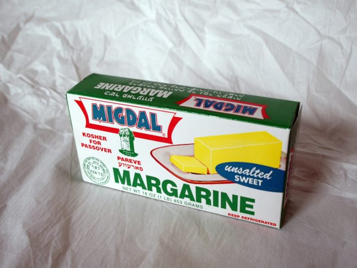 1. You can't serve margarine at a restaurant unless the customer specifically requests it.