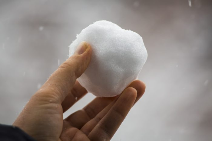 7. In Wausau, you cannot throw snowballs.