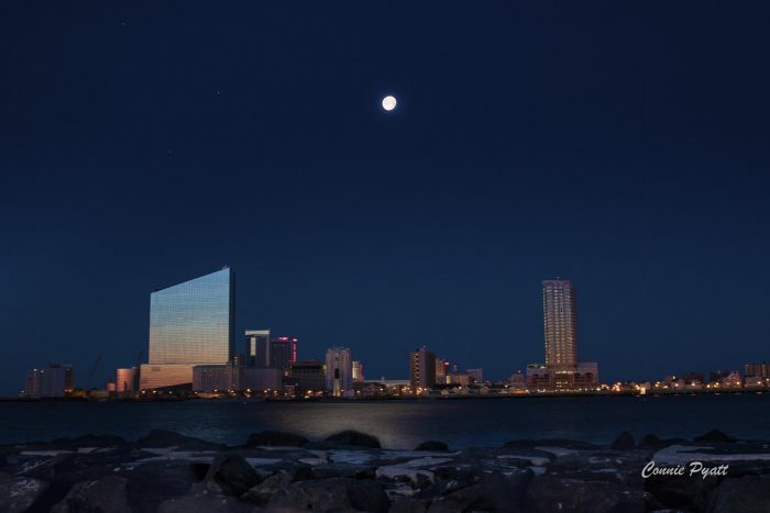 11. When the moon meets the sky like a big pizza pie, that's amore. THIS is Atlantic City.