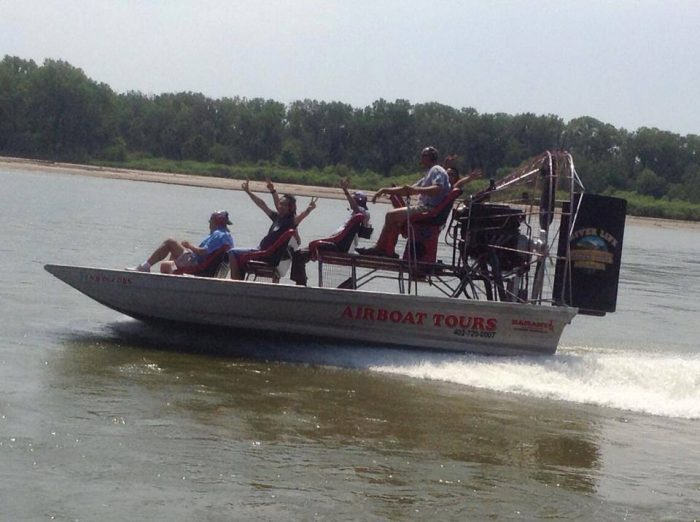 5. Airboating