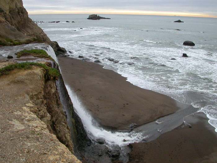 1. Alamere Falls in Point Reyes National Seashore
