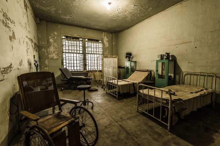 Haunted Hospital Tour California