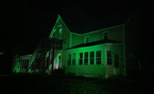 another shot of house lit up