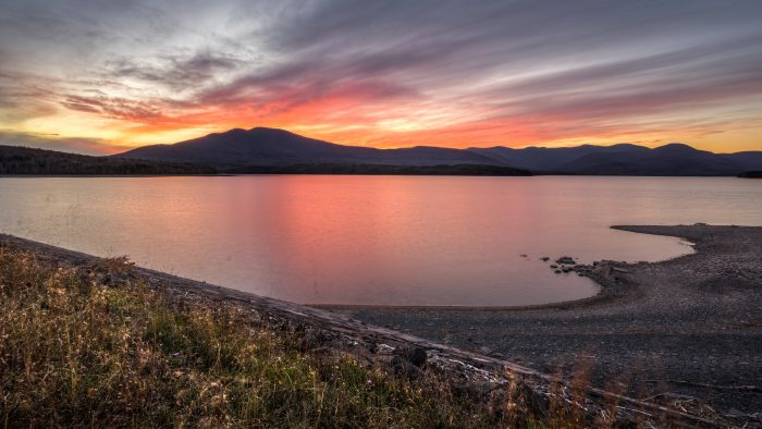4. Catch an unforgettable sunset at the Ashokan Reservoir in Ulster County.