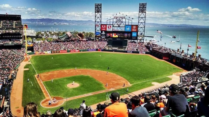5. Get to AT&T Park to see the World Champion Giants play (and to eat garlic fries and drink wine, of course).