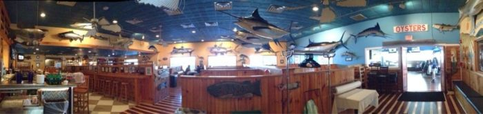 Big Fish Grill Delaware Interior