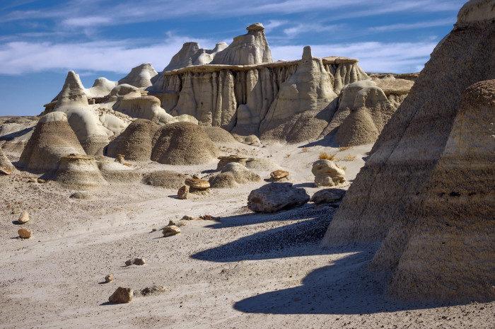 New Mexico: Bisti Badlands