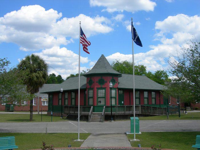 17. Blackville (in Barnwell County)
