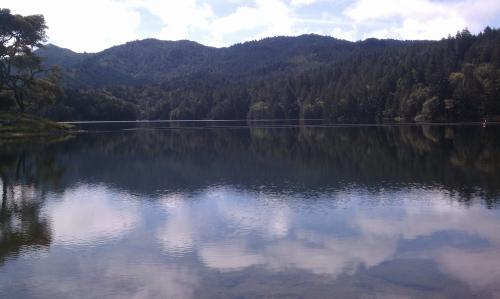 15. Bon Tempe Lake, Marin County