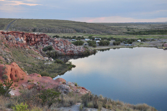 New Mexico: Bottomless Lakes State Park
