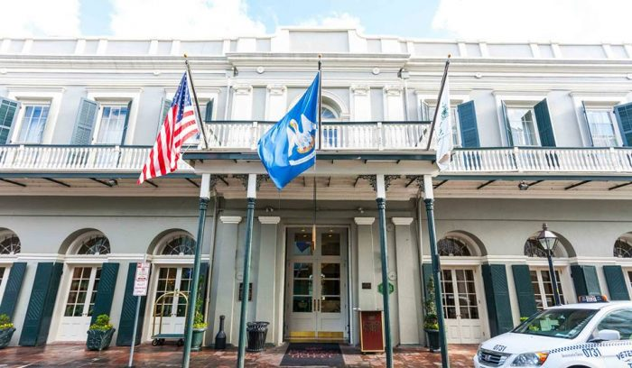 1) Bourbon Orleans Hotel, 717 Orleans St.