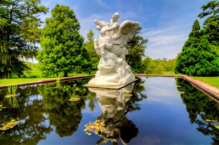 12. The ascending movement in this sculpture at Brookgreen Gardens in Murrells Inlet may make you wish you could hitch a ride to Heaventown.