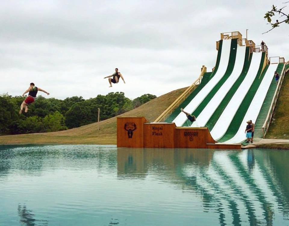 The Most Terrifying Water Slide In Texas