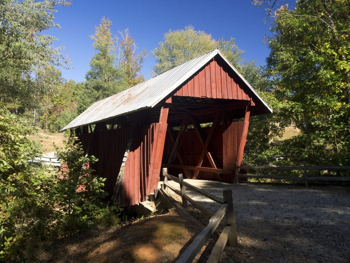 6. Campbell's Covered Bridge near Gowensville, SC