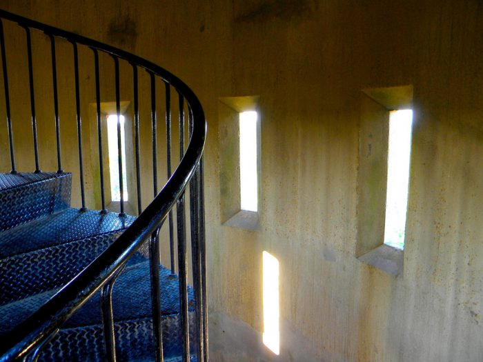 cape henlopen tower interior