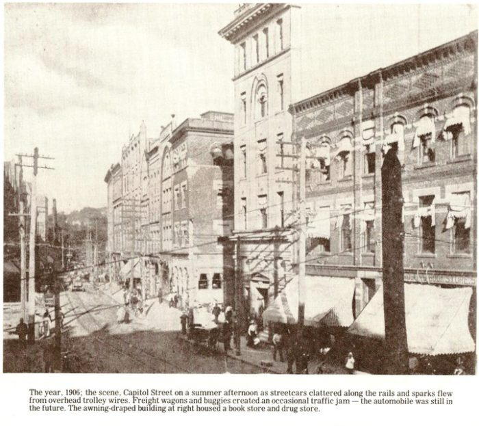 1. Capitol Street in Charleston, 1906