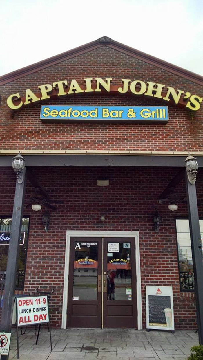 3. Captain John's Seafood Bar & Grill (Pawley's Island) 13057 Ocean Hwy, Pawleys Island, SC 29585