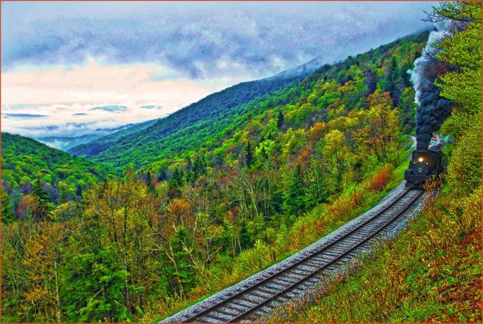 6. Cass Scenic Railroad