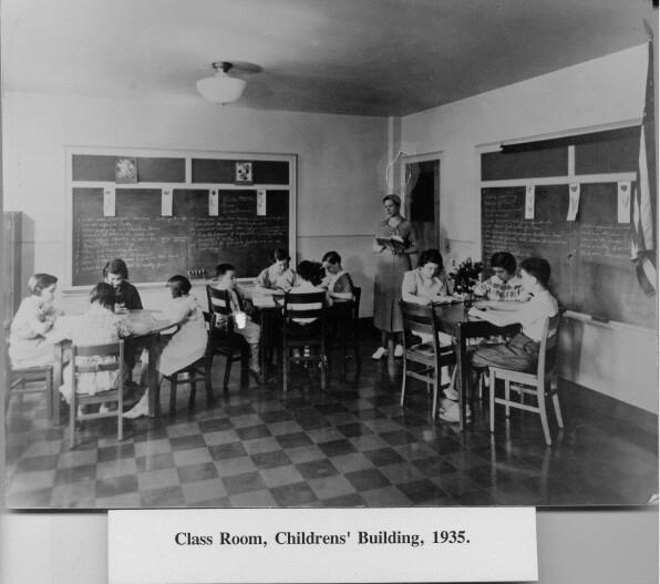 Delaware 1930's classroom