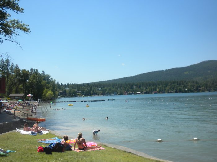 3. City Beach, Whitefish