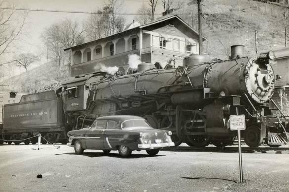 10. Clendenin Railroad Boarding House in 1950