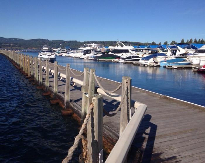 8. The Floating Boardwalk, Coeur d'Alene