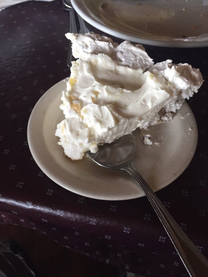 4. Eat Company's Comin' Pie at the Cliff House Inn in Jasper...