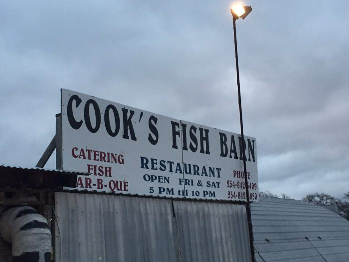 1. Cook's Fish Barn (Comanche)