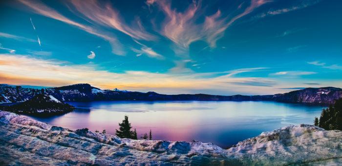 7. Crater Lake National Park - Crater Lake, OR