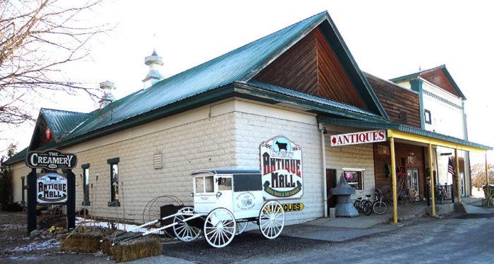 1. Creamery Antique Mall, Stevensville