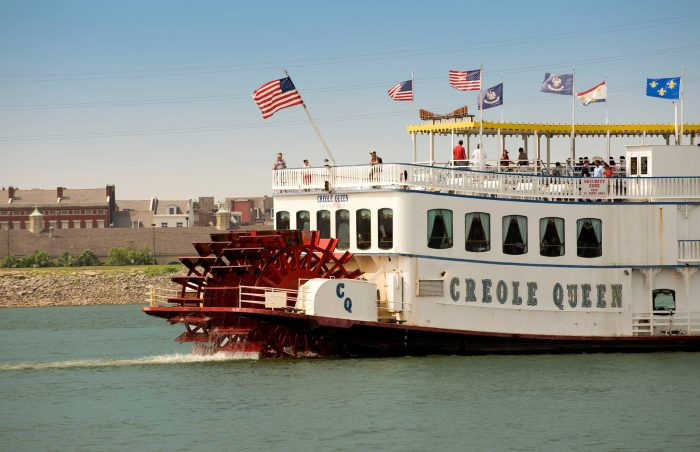 5) Creole Queen, Toulouse St. Wharf, New Orleans