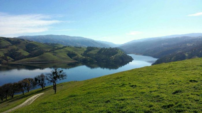 6. Lake Del Valle: An ideal locale to swim, fish,  windsurf, or start (or end) your 28-mile backcountry hike along the Ohlone Wilderness Trail.