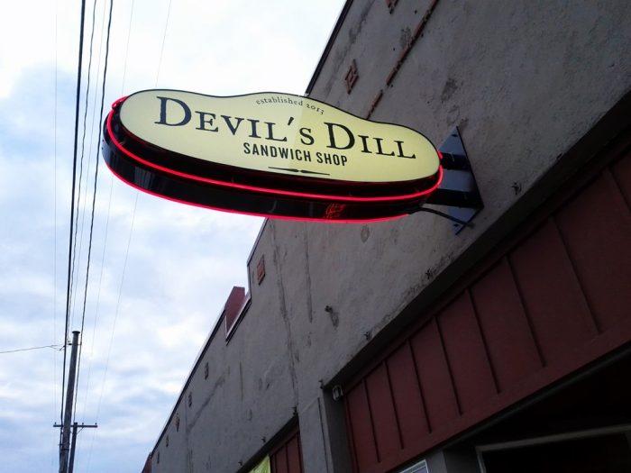 7. Devil's Dill Sandwich Shop - SE Portland