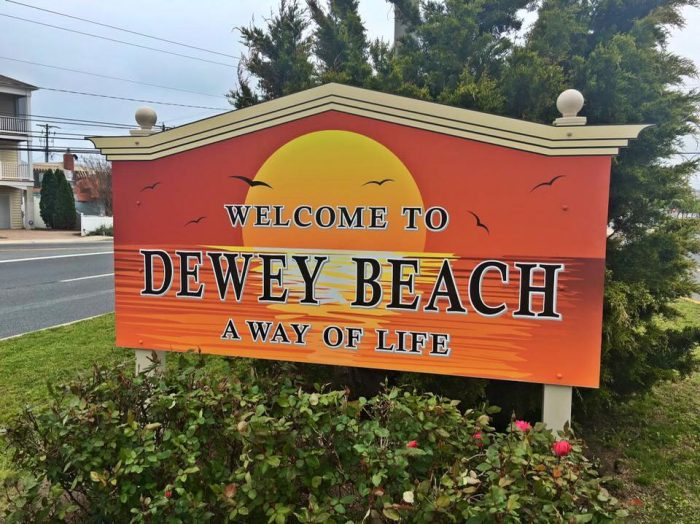 Dewey Beach Sign